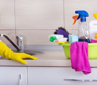 Средства для клининга на профессиональной кухне