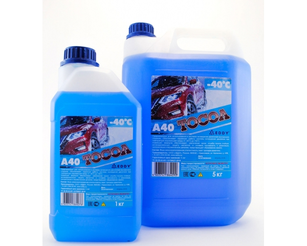 Охлаждающая жидкость «EDDY» Тосол-А40